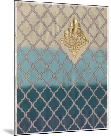 Blue Mahal II-Vanna Lam-Mounted Art Print