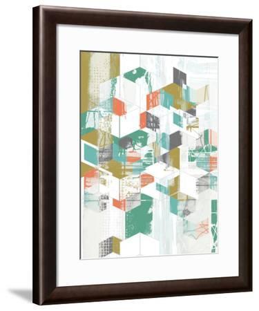 Box Grid II-Jennifer Goldberger-Framed Art Print