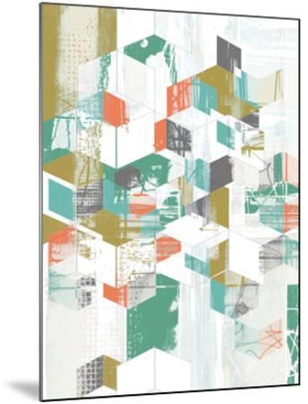 Box Grid II-Jennifer Goldberger-Mounted Art Print