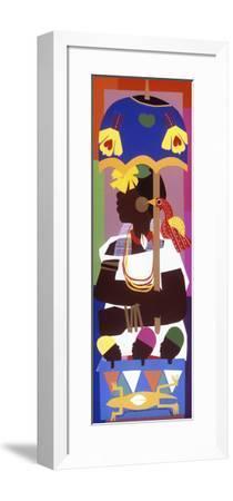 Ashanti-Varnette Honeywood-Framed Art Print