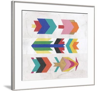 Crossfire II-Chariklia Zarris-Framed Art Print