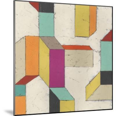 Tessellate III-June Erica Vess-Mounted Art Print