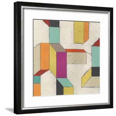 Tessellate III-June Erica Vess-Framed Art Print