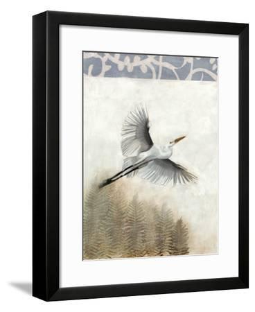 Waterbirds in Mist I-Naomi McCavitt-Framed Giclee Print