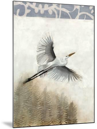 Waterbirds in Mist I-Naomi McCavitt-Mounted Giclee Print