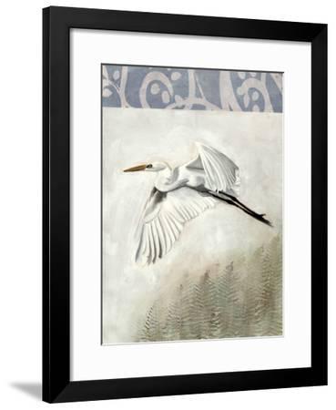 Waterbirds in Mist II-Naomi McCavitt-Framed Giclee Print