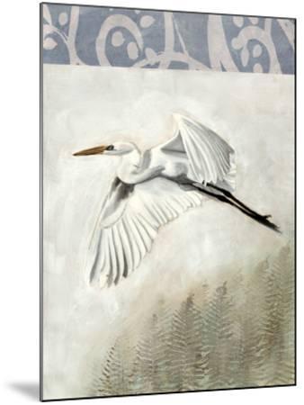 Waterbirds in Mist II-Naomi McCavitt-Mounted Giclee Print