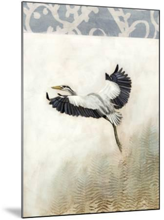 Waterbirds in Mist IV-Naomi McCavitt-Mounted Giclee Print