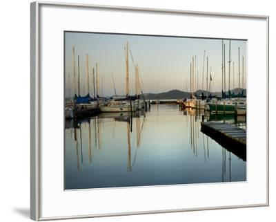 Marina Sundown II-Danny Head-Framed Giclee Print