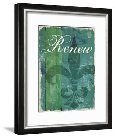 Renew - Unwind I--Framed Art Print