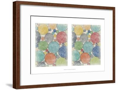 Twirl I 2-Up-Chariklia Zarris-Framed Art Print