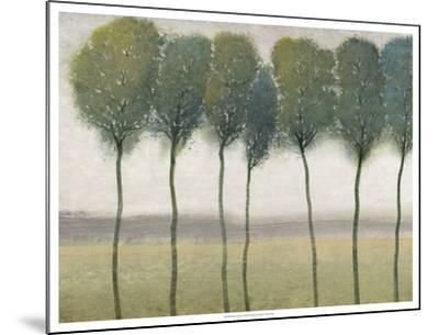 Row of Trees I--Mounted Art Print