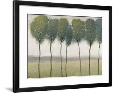 Row of Trees I--Framed Art Print