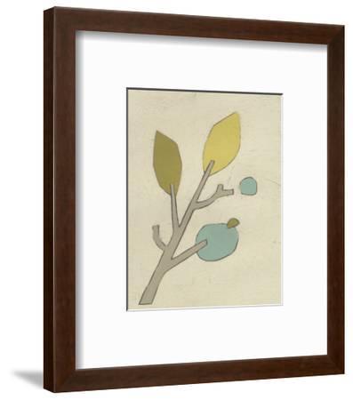Simple Stems VI-June Erica Vess-Framed Art Print