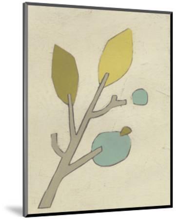 Simple Stems VI-June Erica Vess-Mounted Art Print