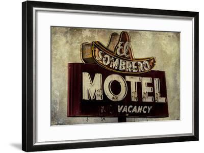 Vintage LA XI-Honey Malek-Framed Art Print