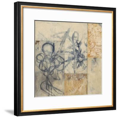 Indigo Strings I-Jennifer Goldberger-Framed Limited Edition