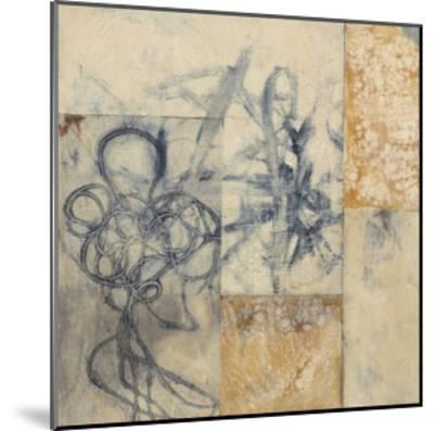 Indigo Strings I-Jennifer Goldberger-Mounted Limited Edition