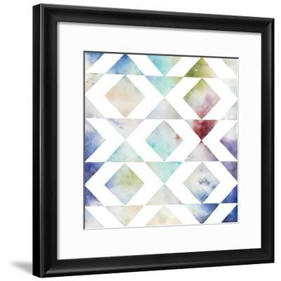 Pattern Blur IV-Megan Meagher-Framed Limited Edition