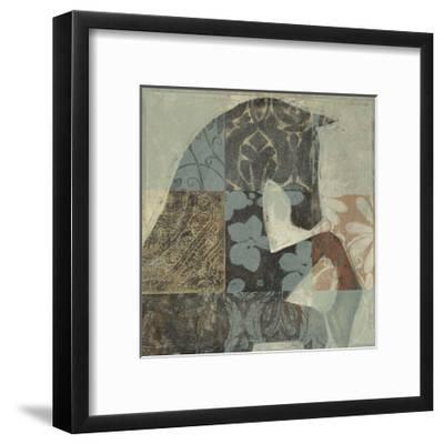 Patterned Horse II--Framed Art Print