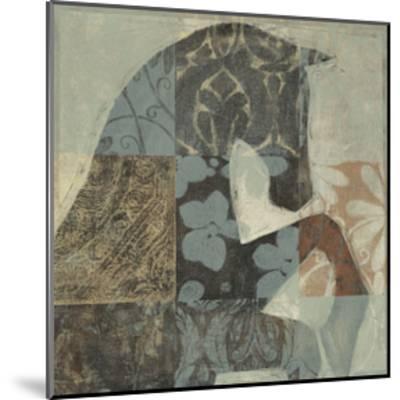 Patterned Horse II--Mounted Art Print