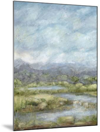 Green Pastures I-Beverly Crawford-Mounted Giclee Print