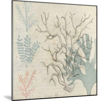 Sea Ephemera II-Grace Popp-Mounted Art Print