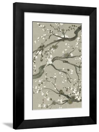 Neutral Cherry Blossoms II-Grace Popp-Framed Giclee Print
