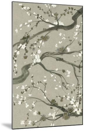 Neutral Cherry Blossoms II-Grace Popp-Mounted Giclee Print