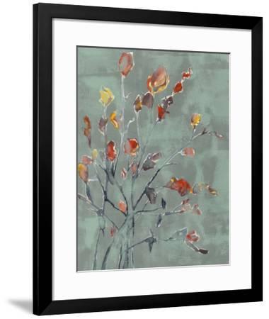 Wildflower Watercolors II-Jennifer Goldberger-Framed Limited Edition