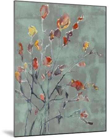 Wildflower Watercolors II-Jennifer Goldberger-Mounted Limited Edition
