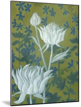 Wild Chrysanthemums II-Grace Popp-Mounted Art Print