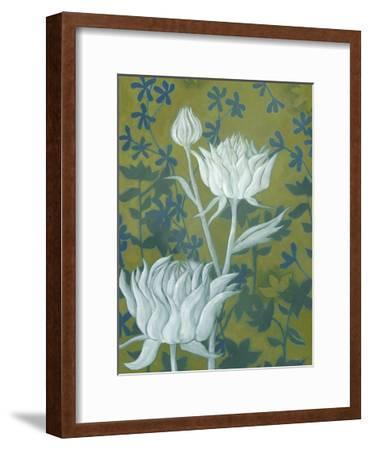 Wild Chrysanthemums II-Grace Popp-Framed Art Print