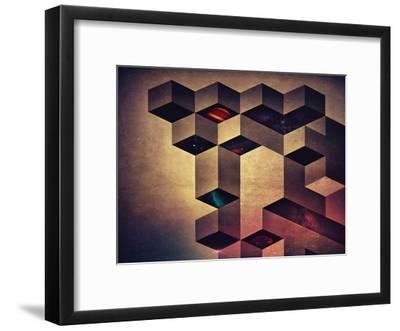 isyfryntyyrs-Spires-Framed Art Print