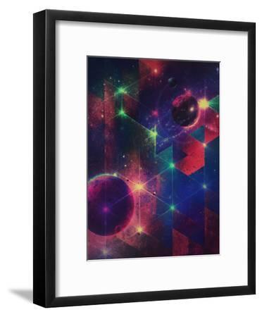 dymynzhyns-Spires-Framed Art Print