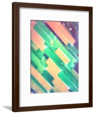glww slyyd-Spires-Framed Art Print
