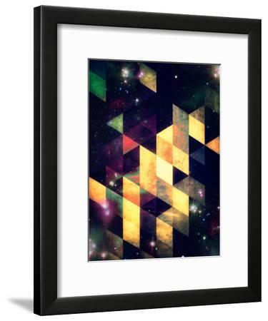 swwyrr-Spires-Framed Art Print