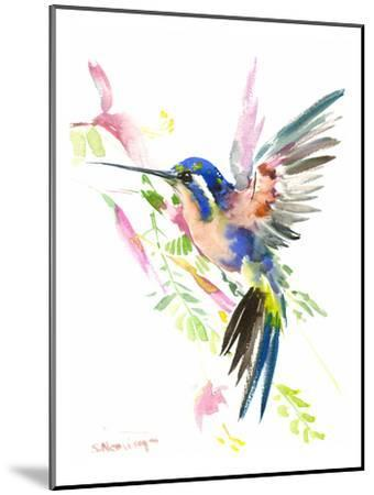 Hummingbird Flying-Suren Nersisyan-Mounted Art Print