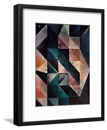 spyce chynnyl-Spires-Framed Art Print