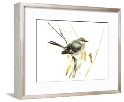 Mockingbird-Suren Nersisyan-Framed Art Print