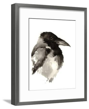 Crow-Suren Nersisyan-Framed Art Print
