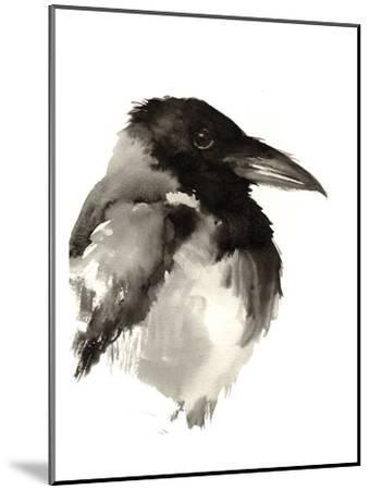Crow-Suren Nersisyan-Mounted Art Print