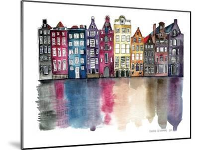 Amsterdam-Claudia Libenberg-Mounted Art Print