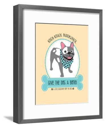 Dog-Jilly Jack Designs-Framed Art Print