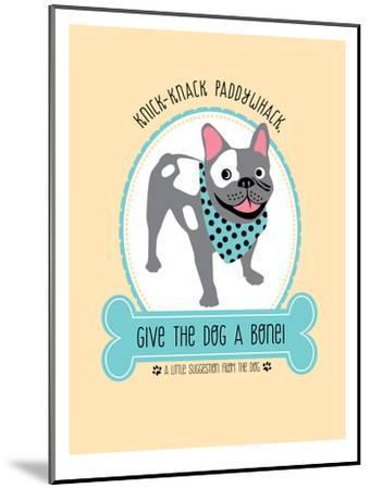 Dog-Jilly Jack Designs-Mounted Art Print