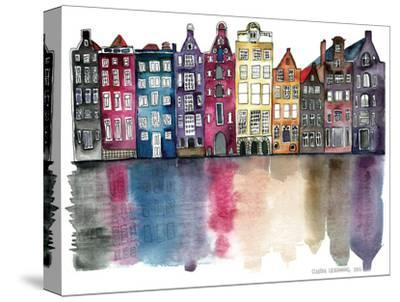Amsterdam-Claudia Libenberg-Stretched Canvas Print