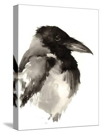 Crow-Suren Nersisyan-Stretched Canvas Print