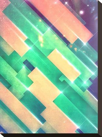glww slyyd-Spires-Stretched Canvas Print