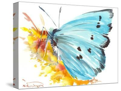 Holly Blue Butterfly 2-Suren Nersisyan-Stretched Canvas Print