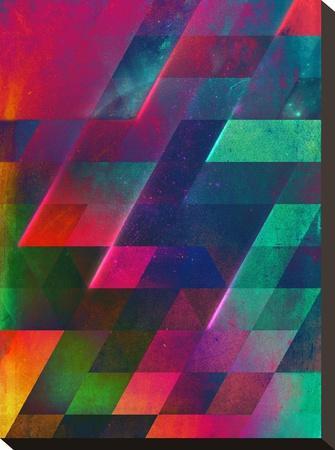 let go-Spires-Stretched Canvas Print